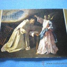 Postales: POSTAL MADRID MUSEO DEL PRADO VISION DE SAN PEDRO NOLASCO ZURBARAN NO CIRCULADA. Lote 17994740