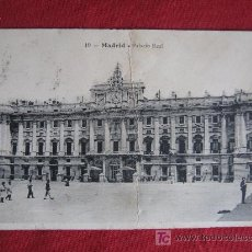 Postales: MADRID - PALACIO REAL. Lote 18031957