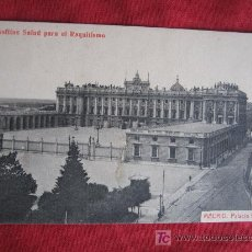 Postales: MADRID - PALACIO REAL. Lote 18031882