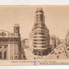 Postales - MADRID. AVENIDA DE EDUARDO DATO Y EDIFICIO CARRIÓN. (ED. HELIOGRAFIA ESPAÑOLA) - 18137161