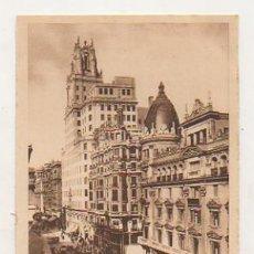 Postales - MADRID. PALACIO DE LA TELEFÓNICA Y GRAN VIA. (ED. HELIOGRAFIA ESPAÑOLA) - 18137232