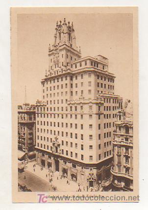 MADRID. PALACIO DE LA TELEFÓNICA. (ED. HELIOGRAFIA ESPAÑOLA) (Postales - España - Comunidad de Madrid Antigua (hasta 1939))