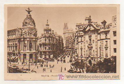 MADRID. AVENIDA DEL CONDE DE PEÑALVER. (ED. HELIOGRAFIA ESPAÑOLA) (Postales - España - Comunidad de Madrid Antigua (hasta 1939))