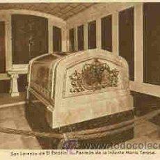 Postales: SAN LORENZO DE EL ESCORIAL - PANTEON DE LA INFANTA MARIA TERESA. Lote 18175223