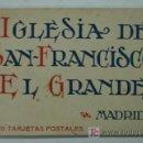 Postales: 20 TARJETAS POSTALES DE LA IGLESIA DE SAN FRANCISCO EL GRANDE. MADRID. (HAUSER Y MENET). Lote 18315682