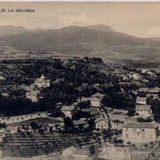 Postales: CERCEDILLA(MADRID).-LA COLONIA. Lote 18426810
