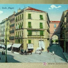 Postales: ANTIGUA POSTAL, MADRID, CALLE MAYOR, Nº 78, ER, MEDIDAS: 13.5 X 9 CM. . Lote 18455626