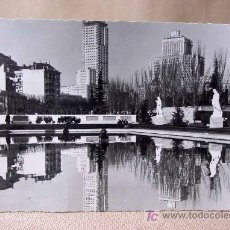 Postales: ANTIGUA FOTO POSTAL, MADRID, Nº 54, JARDINES DEL PALACIO REAL, MEDIDAS: 15 X 9.5 CM. Lote 18456025
