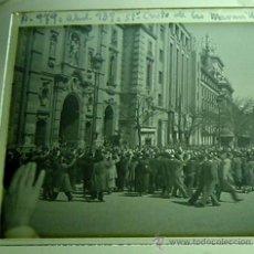 Postales: ANTIGUA FOTOGRAFIA ESTEREOSCOPICA DE CRISTAL, POSITIVO - MADRID, ABRIL DE 1939, CRISTO DE LAS MARAVI. Lote 18618593