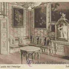 Postales: EL ESCORIAL - CASITA DEL PRINCIPE - SALA DE LA TORRE. Lote 18984520