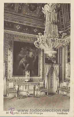 EL ESCORIAL - CASITA DEL PRINCIPE - VESTIBULO (Postales - España - Comunidad de Madrid Antigua (hasta 1939))