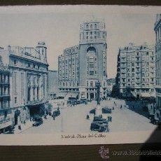 Postales: POSTAL MADRID PLAZA CALLAO. Lote 24299448