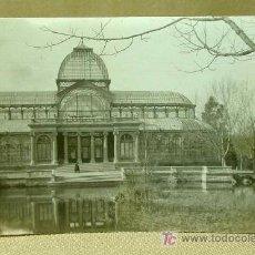 Postales: POSTAL, MADRID, PALACIO DE CRISTAL, A: 909, MEDIDAS: 13.5 X 9 CM.. Lote 19139699