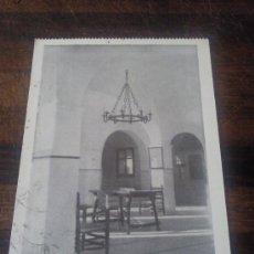 Postales: ANTIGUA POSTAL CASA DE EJERCICIOS CRISTO REY POZUELO DE ALARCON MADRID 1966. Lote 24044690