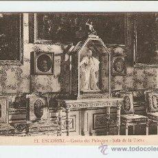 Postales: EL ESCORIAL - CASITA DEL PRÍNCIPE . SALA DE LA TORRE. Lote 19483041