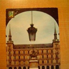 Postales: POSTAL MADRID PLAZA MAYOR CIRCULADA. Lote 19541660