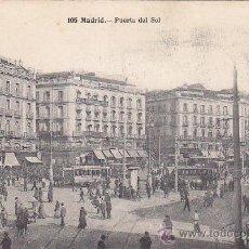 Postales: PUERTA DEL SOL: TARJETA POSTAL ANTIGUA, FOT. LACOSTE MADRID, SIN CIRCULAR.. Lote 19621759