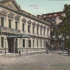 Postales: EDIFICIO DEL SENADO EN MADRID 1910: TARJETA POSTAL EN COLOR DR. TRENKLER CO., LEIPZIG.. Lote 19622031