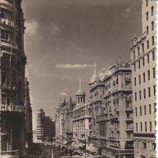 Postales: MADRID VISTA PARCIAL DE LA AVENIDA JOSE ANTONIO Nº 3. Lote 26807012