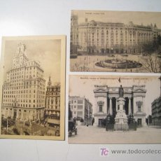 Postales: MADRID - LOTE 3 POSTALES ANTIGUAS. Lote 20181213