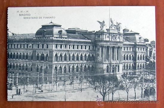 MADRID - MINISTERIO DE FOMENTO (Postales - España - Madrid Moderna (desde 1940))
