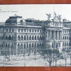 Postales: MADRID - MINISTERIO DE FOMENTO. Lote 20333370