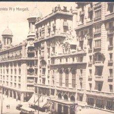 Postales: MADRID.- AVENIDA DE PI Y MARGALL. Lote 20465723
