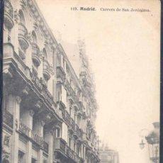 Postales: MADRID.-CARRERA DE SAN JERÓNIMO. Lote 20465995
