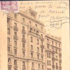 Postales: MADRID.- HOTEL MONTEMAR. Lote 20466364