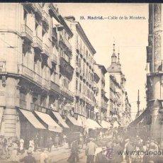 Postales: MADRID.- CALLE DE LA MONTERA. Lote 20466732
