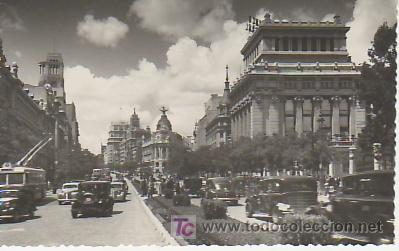 MADRID 7 CALLE DE ALCALA.VEA MAS POSTALES EN RASTRILLOPORTOBELLO (Postales - España - Madrid Moderna (desde 1940))