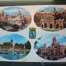Postales: 4588 ESPAÑA SPAIN ESPAGNE MADRID POSTCARD AÑOS 60/70 CIRCULADA - TENGO MAS POSTALES. Lote 20783752