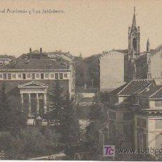 Postales: MADRID.REAL ACADEMIA Y LOS JERONIMOS.Nº8.MAS POSTALES Y COLECCIONSIMO EN RASTRILLOPORTOBELLO. Lote 20906069