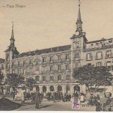 Postales: MADRID.PLAZA MAYOR.Nº10. ANIMADA MAS POSTALES Y COLECCIONSIMO EN RASTRILLOPORTOBELLO. Lote 24658135