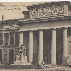 Postales: MADRID.FACHADA LATERAL MUSEO DEL PRADO.Nº12 VEA MAS POSTALES Y COLECCIONSIMO EN RASTRILLOPORTOBELLO. Lote 20906129
