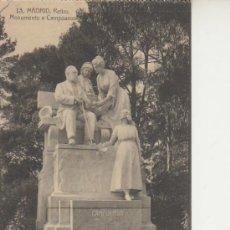 Postales: MADRID.Nº13 RETIRO.MONUMENTO A CAMPOAMOR. VEA MAS POSTALES Y COLECCIONSIMO EN RASTRILLOPORTOBELLO. Lote 20906174