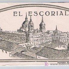 Postales: EL ESCORIAL. PRIMERA SERIE. 20 POSTALES.. Lote 20964360
