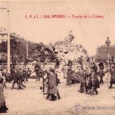 Postales: MAGNIFICA COLECCIÓN DE 79 POSTALES DE MADRID FOTOTIPIA.CASTAÑEIRA. ALVAREZ Y LEVENFELD. SIN CIRCULAR. Lote 21057842