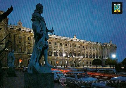 MADRID - PLAZA DE ORIENTE. PALACIO REAL (Postales - España - Madrid Moderna (desde 1940))