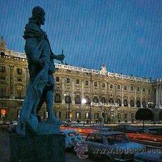 Postales: MADRID - PLAZA DE ORIENTE. PALACIO REAL. Lote 21269345
