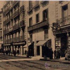 Postales: MADRID.- CALLE DE PRECIADOS ENTRE PLAZA DE CALLAO Y SANTO DOMINGO. Lote 21390026