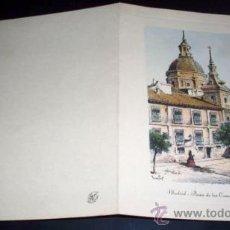 Postales: TARJETA POSTAL MADRID PLAZA DE LAS COMENDADORAS - 1958. Lote 26265788