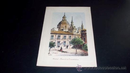 Postales: TARJETA POSTAL MADRID PLAZA DE LAS COMENDADORAS - 1958 - Foto 3 - 26265788
