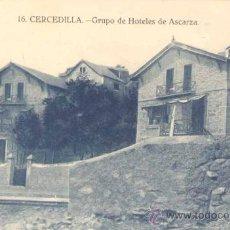 Postales: CERCEDILLA (MADRID).- GRUPO DE HOTELES DE ASCARZA. Lote 21630945