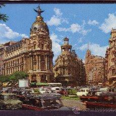 Postales: CALLE DE ALCALA - AVENIDA DE JOSE ANTONIO - MADRID . Lote 22392949