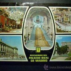 Postales: 6293 ESPAÑA SPAIN ESPAGNE MADRID PALACIO REAL RECUERDO POSTCARD AÑOS 60 - TENGO MAS POSTALES. Lote 22648675