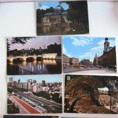 Postales: 7 POSTALES DE MADRID DE LOS AÑOS 60 Y 70. Lote 22670879