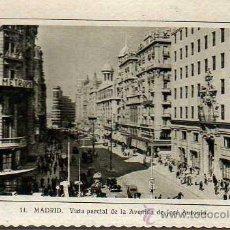 Postales: POSTAL DE MADRID -AVENIDA JOSÉ ANTONIO DE F.MOLINA 14. Lote 22991960
