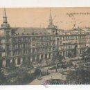 Postales: MADRID. PLAZA MAYOR. (HAUSER Y MENET). . Lote 23309745