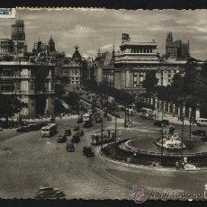 Postales: POSTAL DE MADRID Nº3 CALLE DE ALCALÁ DESDE CIBELES. Lote 23321078